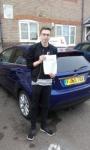 Luke passed with Martin's Driving School