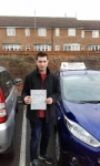 Matthew Scofield passed with Martin's Driving School