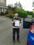 Matthew Mai passed with Martin's Driving School