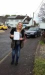 Moira Wicks passed with Martin's Driving School