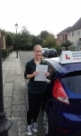 Rachel Brown passed with Martin's Driving School