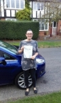 Sarah Rimmer passed with Martin's Driving School