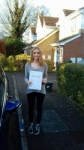 Susannah passed with Martin's Driving School