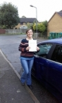 Vicki Horwood passed with Martin's Driving School