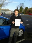 Aaron Popple passed with Martin's Driving School