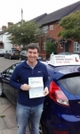 Adrian Kidd passed with Martin's Driving School