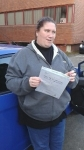 Amanda Attwell passed with Martin's Driving School