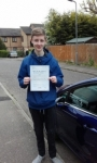Jack passed with Martin's Driving School