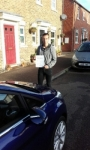 Jack McDonald passed with Martin's Driving School