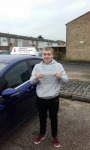 Louis Glasgow passed with Martin's Driving School