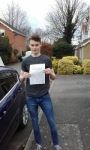 Oliver Waite passed with Martin's Driving School