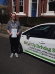 Alexandra Boughton passed with Belt Up Driving School