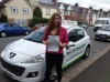 Alexa Benham passed with Belt Up Driving School