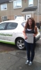Amy Brokenden passed with Belt Up Driving School