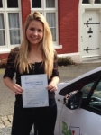 Beth Gare passed with Belt Up Driving School