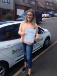 Bethany Hughes passed with Belt Up Driving School