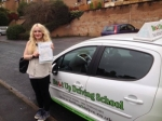 Casie Bugg passed with Belt Up Driving School