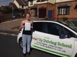 Emily Male passed with Belt Up Driving School