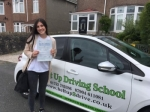 Gabby Basso passed with Belt Up Driving School