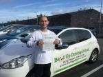Dimitar passed with Belt Up Driving School