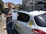 Jonny Pink passed with Belt Up Driving School