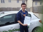 Jordan Newton passed with Belt Up Driving School