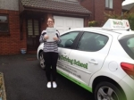 Kellianne passed with Belt Up Driving School