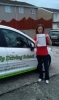 Kim Newman passed with Belt Up Driving School