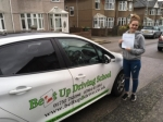 Kirsty Neil passed with Belt Up Driving School