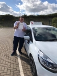 Kris passed with Belt Up Driving School