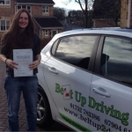 Laura Riley-Wallace passed with Belt Up Driving School