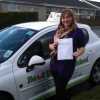 Lisa passed with Belt Up Driving School