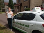 Lucy Corboy passed with Belt Up Driving School