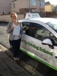 Lucy Gosling passed with Belt Up Driving School