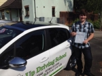 Luke Ridge passed with Belt Up Driving School