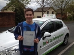 Luke Stannard passed with Belt Up Driving School
