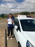 Marina Eastwood passed with Belt Up Driving School