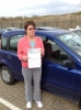 Mary Hoskin, Torpoint passed with Belt Up Driving School