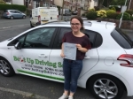 Merryn Trevitt passed with Belt Up Driving School