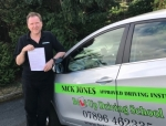 Nick Jones ADI passed with Belt Up Driving School