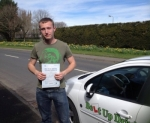 Peter Arthur passed with Belt Up Driving School