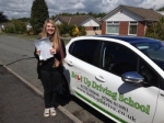 Phoebe Thompson passed with Belt Up Driving School