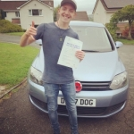 Richard Henderson passed with Belt Up Driving School