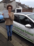Ruth passed with Belt Up Driving School
