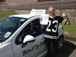 Sam Crotch passed with Belt Up Driving School