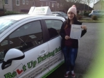 Sandra Lai passed with Belt Up Driving School