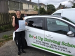 Shell Thomas passed with Belt Up Driving School