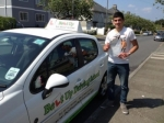 Tom Martin passed with Belt Up Driving School