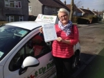 Tracey Seldon passed with Belt Up Driving School