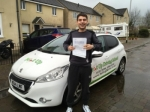 zac passed with Belt Up Driving School